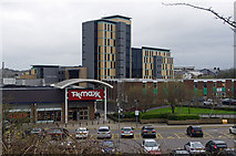 SD8432 : Tk maxx and the St Peter's Centre by Ian Taylor
