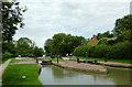 SP5374 : Hillmorton Middle Locks in Warwickshire by Roger  Kidd