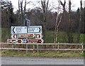 NJ4803 : Whiteley road junction, Tarland by Stanley Howe