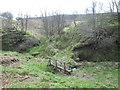SK2078 : Footbridge over Bretton Brook by John Slater
