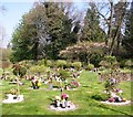 TG2108 : Burials of ashes in the gardens of remembrance by Evelyn Simak
