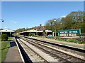 TQ3729 : Horsted Keynes Railway Station by PAUL FARMER
