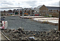 NS4370 : Building site at the former ROF site by Thomas Nugent