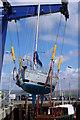 NX0561 : Marine Boat Lift, Stranraer : Week 16