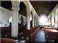 SX0854 : Interior, The Church of St Andrew the Apostle Tywardreath by Roger Cornfoot