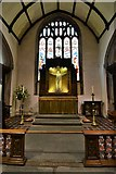 SX3384 : Launceston, St. Mary Magdalene's Church: Looking towards the reredos by Michael Garlick