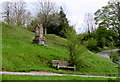 SO8501 : Silver Jubilee bench and Diamond Jubilee memorial, Amberley by Jaggery