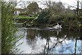 SE3017 : River Calder near Low Lock by Ian S