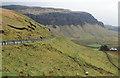 NM4533 : B8035 crossing slope above Balmeanach by Trevor Littlewood