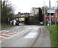 SJ3156 : This way to Cefn-y-Bedd Station, Flintshire by Jaggery