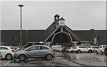 SD3433 : Tesco Extra, Blackpool by Ian Greig