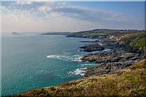 SW5527 : Cornwall : Coastal Scenery by Lewis Clarke