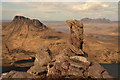 NC1007 : Rock Pinnacle on Beinn an Eoin, Wester Ross : Week 17
