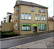 ST1599 : Homes estate agents office in Bargoed by Jaggery