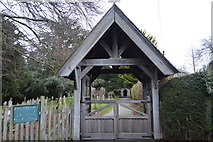 TR2157 : Lych gate, Church of St Vincent by N Chadwick