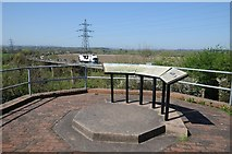 SO8551 : Battlefield viewpoint by Philip Halling