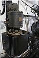 SU4924 : Twyford Pumping Station - Westinghouse air compressor  by Chris Allen