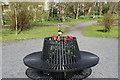 NX0163 : Seating at Aldouran Garden by Billy McCrorie