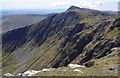 SH8623 : Crags of Erw y Ddafad-ddu by Andrew Hill