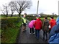 H4675 : First Omagh Church Walking Group, Killybrack by Kenneth  Allen