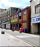 ST1599 : Jobcentre Plus in Bargoed by Jaggery