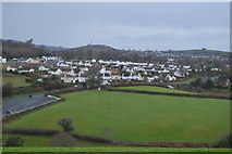 SX9575 : The edge of Dawlish by N Chadwick
