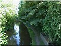 SJ3333 : Llangollen Canal heading south by Eirian Evans