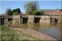 SO8352 : Old Powick Bridge by Philip Halling