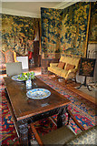 SX4268 : Cornwall : Cotehele House - Dining Room by Lewis Clarke