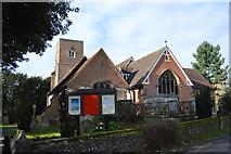 TQ2166 : Church of St John the Baptist by N Chadwick