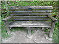 SP8600 : Memorial Bench at Anne's Hill by David Hillas