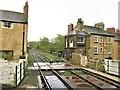 SE3457 : Signal Box, Knaresborough Railway Station by G Laird