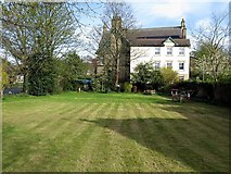 NZ1164 : Small park near Wylam Institute by Andrew Curtis