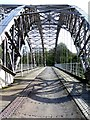 NZ1164 : Track-bed of Hagg Bank Bridge by Andrew Curtis
