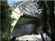 NZ1164 : Hagg Bank Bridge from below by Andrew Curtis