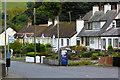 D3015 : Bus Stop on the A2 Coastal Road at Glenarm by David Dixon