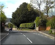 SX9473 : Bus stop for Dawlish in Dawlish Road - A379 by John C