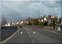SX9473 : Bypassing Teignmouth town centre on the A379 by John C