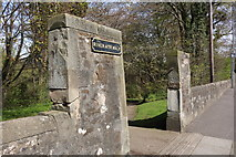 NS3421 : Entrance to River Ayr Walk by Billy McCrorie