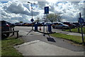 TG5102 : Entrance to the Staff Car Park at James Paget Hospital by Adrian Cable