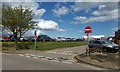 TG5102 : Staff Car Park at James Paget Hospital by Adrian Cable
