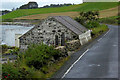 D3413 : Stone farm Building on the A2 Coast Road by David Dixon