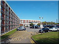 TQ0778 : Crowne Plaza hotel car park, near Heathrow by Malc McDonald