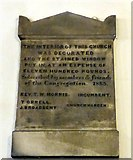 SJ9398 : 1853 Commemorative Plaque by Gerald England