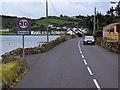 D3608 : Coast Road at Ballygalley by David Dixon