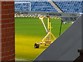 NS5564 : Turf lighting at Ibrox Stadium by Thomas Nugent