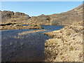 NG9302 : Outflow of Loch an Lagain Aintheich by Richard Law