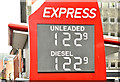 J3373 : Fuel prices sign, Belfast (29 April 2018) by Albert Bridge