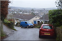 SX8059 : Totnes Down Hill by N Chadwick