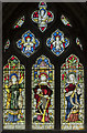 SK8902 : Stained glass window, Ss Peter & Paul church, Wing by Julian P Guffogg